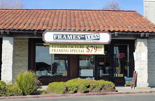 Frames for less Napa